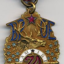 Image of detail medal