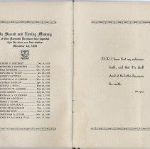 Image of pp [6-7] list of deceased members since Dec. 1, 1929