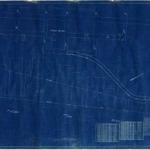 Image of Map: United New Jersey Railroad & Canal Co.; Hoboken Shops; Operated by the Pennsylvania R.R., Lessee. Created 1918; last revised Dec. 31, 1955. - Map
