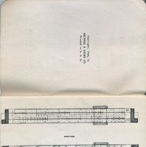 Image of pp [ii-iii], rotated: front & reverse of Cooke Radio Slide Rule