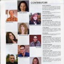 Image of pg 16: Contributors; Art Director