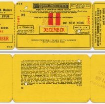 Image of Ticket sample: D.L. & W. R.R. monthly commutation between station to be entered & N.Y.; Dec. 1941. - Ticket, Transportation