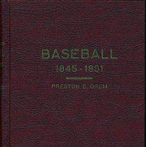 Image of Baseball (1845-1881): From the Newspaper Accounts. - Book