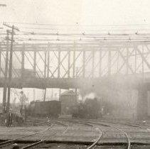 Image of detail left center: Park Ave. bridge overpass