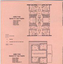 Image of pg [6] Cabin Plan, Special C-2 Type Freighter; Standard C-2 Type Freighter