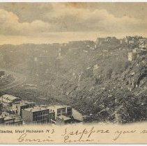 Image of Postcard: Along the Palisades, West Hoboken, N.J. No date, circa 1901-1907. - Postcard