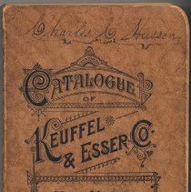 Image of Catalogue of Keuffel & Esser Co., New York; 32nd edition. 1906. - Catalog