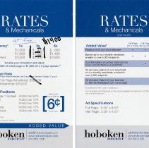 Image of promotional card 3, rate card, both sides