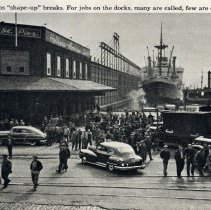 Image of detail photo pg [43]: Fifth Street Pier; Holland America Line