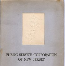 Image of Public Service Corporation of New Jersey and Its Subsidiary Companies. Bonright & Co., Inc., [copyright 1925.] - Pamphlet