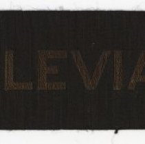 Image of Tally ribbon: U.S.S. Leviathan. No date, circa 1917-1919. - Ribbon, Commemorative