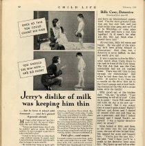 Image of Cocomalt ad, pg 92, Child Life, Feb. 1932