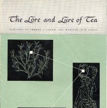 Image of pg [1] front cover: The Lore and Lure of Tea