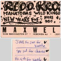 Image of 15  Redd Kross; Manitobas Wild Kingdom - New Years Eve