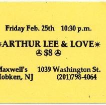 Image of 17 Arthur Lee & Love