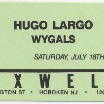 Image of 31 Hugo Largo; Wyglas
