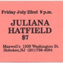 Image of 43 Juliana Hatfield