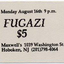 Image of 44 Fugazi