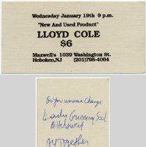Image of 51 Lloyd Cole