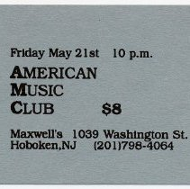 Image of 57 American Music Club