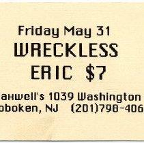 Image of 07 Wreckeless Eric