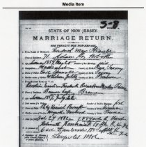 Image of Friedrich Max Straube, Media Item: Civil Marriage Record 1882