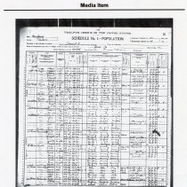 Image of Friedrich Max Straube, Media Item: 1900 Federal Census; complete family