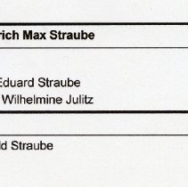 Image of Friedrich Max Straube, individual report , pg 2 of 2