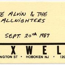 Image of 61 Dave Alvin & The Allnighters