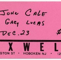 Image of 64 John Cole; Gary Lucas