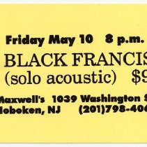 Image of 65 Black Francis (solo acoustic)