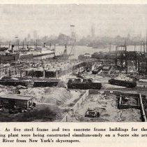 Image of detail photo (Fig. 3) pg 74: view of construction on site