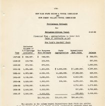 Image of [sect 2] pg 12 Preliminary Estimates ... New York's One-Half Share
