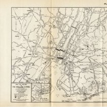 Image of [sect 3 plates] 1: Map of Routes to the Holland Tunnel