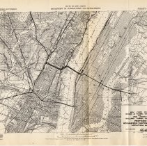Image of [sect 3 plates] 2: Weehawken-Midtown Tunnel Location Map