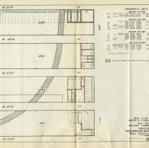 Image of [sect 3 plates] 12: plan, table, Real Estate - New York