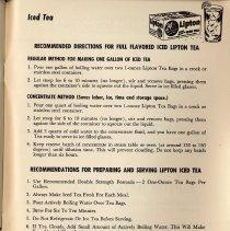 Image of pg 57 Iced Tea; Lipton Tea
