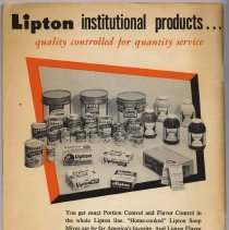 Image of pg [64] back cover; photo of packaged products of several kinds