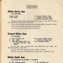 Image of pg 9 Soups (typical recipes)