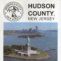 Image of Hudson County, N.J. Official County Map 2008. Issued by Board of Chosen Freeholders (Hudson County). - Map