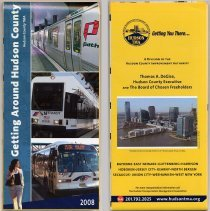 Image of Getting Around Hudson County. 2008. Hudson County TMA. - Map
