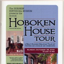 Image of Program: Annual Hoboken House Tour, Sunday, Oct. 28, 2012. - Program