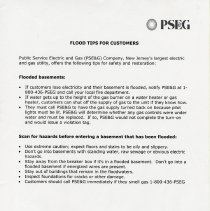 Image of PSE&G Flood Tips