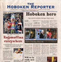 Image of Newspaper: The Hoboken Reporter, Sunday, Nov. 18, 2012. - Newspaper
