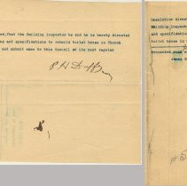 Image of document 1: resolution June 14, 1905