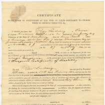 Image of Document 1: Certificate