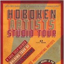 Image of Poster: Mayor Dawn Zimmer,The City of Hoboken & The Hoboken Reporter Present Hoboken Artists Studio Tour. November 17 & 18, 2012. - Poster