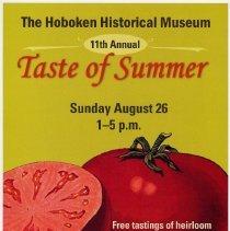 Image of poster Taste of Summer (tomato tasting festival)