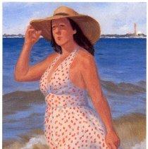 Image of Postcard: En plein Air: Seeking a Sensation, Paintings by Raymond Smith. Exhibit HHM, 2012. - Postcard