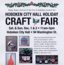 Image of Hoboken City Hall Holiday Craft Fair